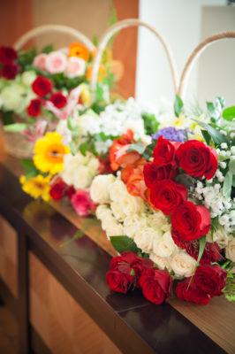 pulmalillede jaoks lillekorvid